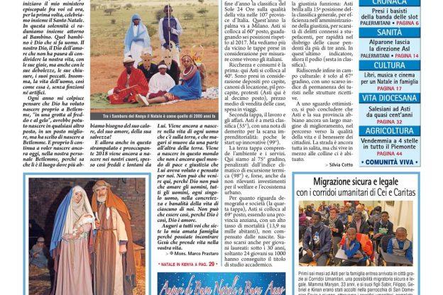 Prima pagina – 21 dicembre 2018