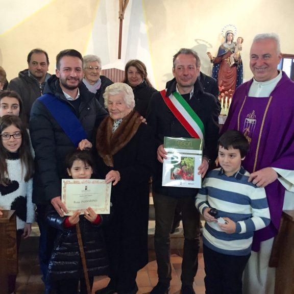 E' di San Damiano l'ultima centenaria del 2018