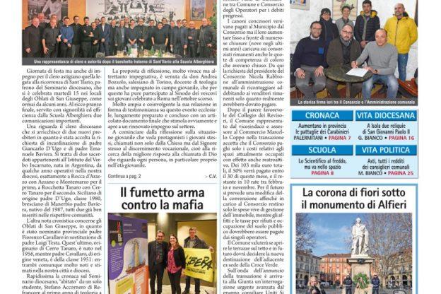 Prima pagina – 18 gennaio 2019