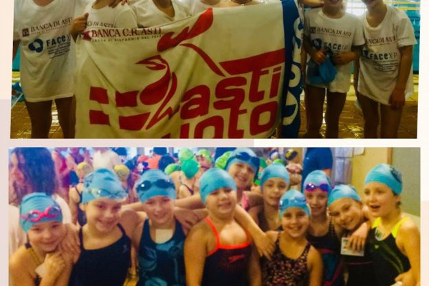 Week end di fuoco per l'Asti Nuoto