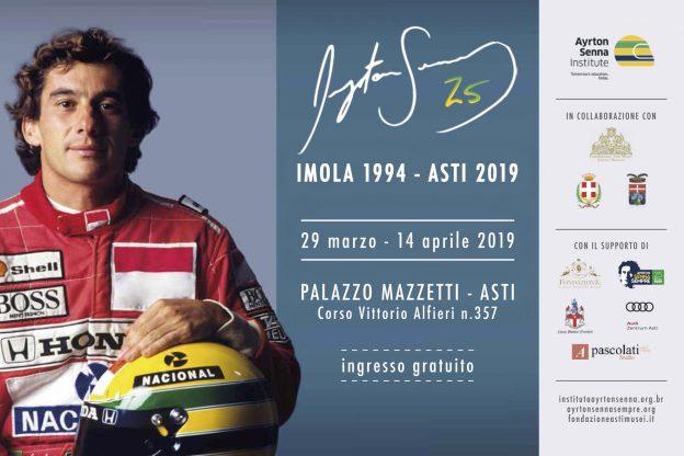 Asti, a Palazzo Mazzetti una mostra su Ayrton Senna