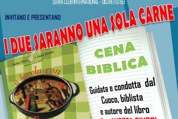 A tavola con Abramo: cena biblica con don Andrea Ciucci