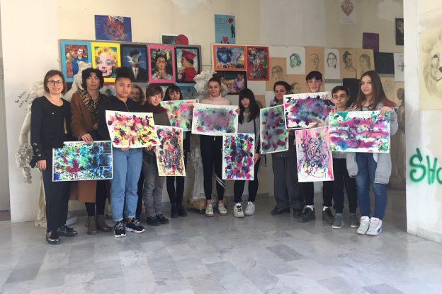 Il Liceo Artistico Alfieri illumina i locali dell'Asl At
