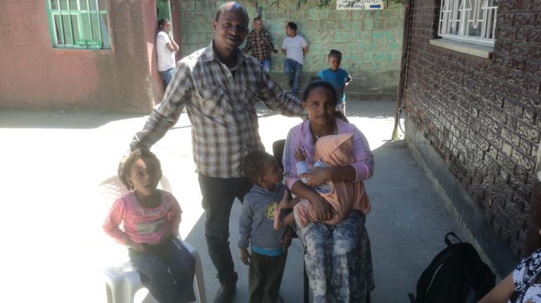 Una famiglia eritrea a Villafranca con i corridoi umanitari