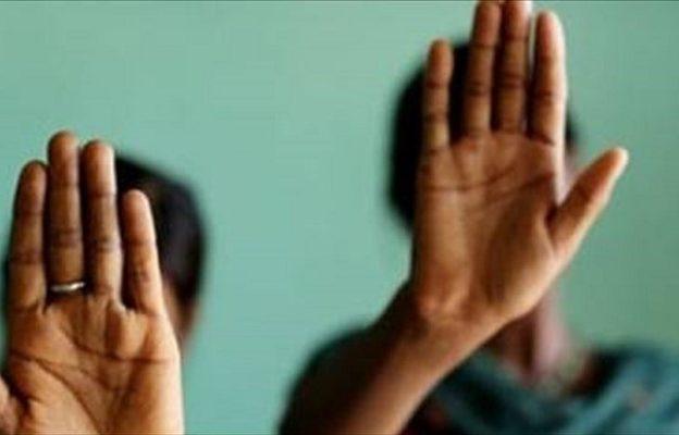 Una messa per la giornata mondiale di preghiera contro la tratta di esseri umani