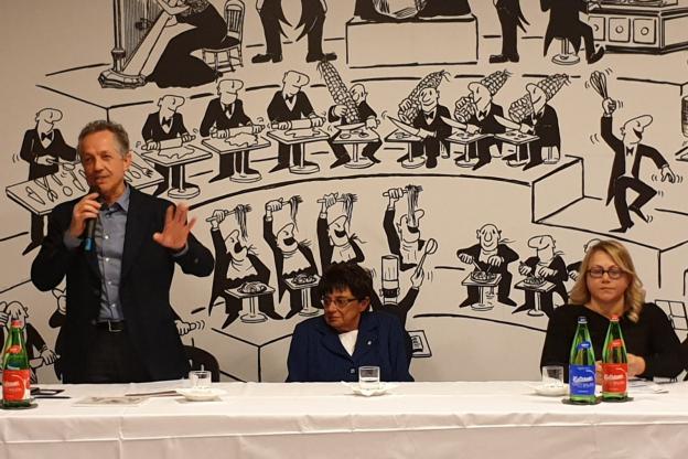 Angela Motta e Giorgio Ferrero incontrano le pro loco astigiane