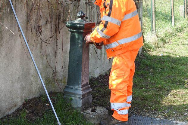 Asti, tecnici Asp al lavoro per riattivare i punti acqua della città e delle frazioni