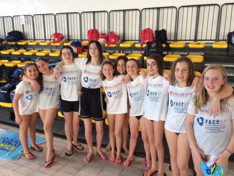 Asti Nuoto, esordienti A al Grand Prix di Torino