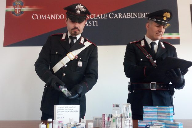 Anche Asti coinvolta nell'operazione antidoping dei carabinieri in tutta Italia