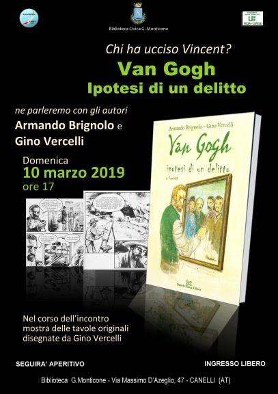 Il mistero di Vincent Van Gogh alla Biblioteca di Canelli