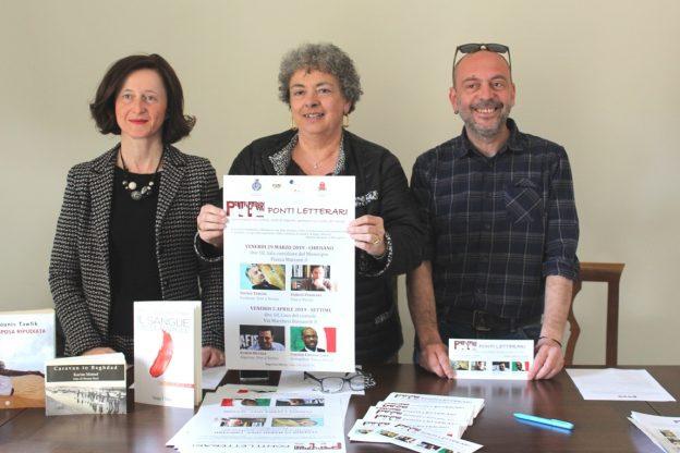 """Gli scrittori Tawfik e Pandiani il 29 marzo aprono """"Ponti letterari"""""""