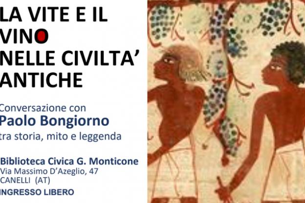 Paolo Bongiorno alla Biblioteca Monticone di Canelli
