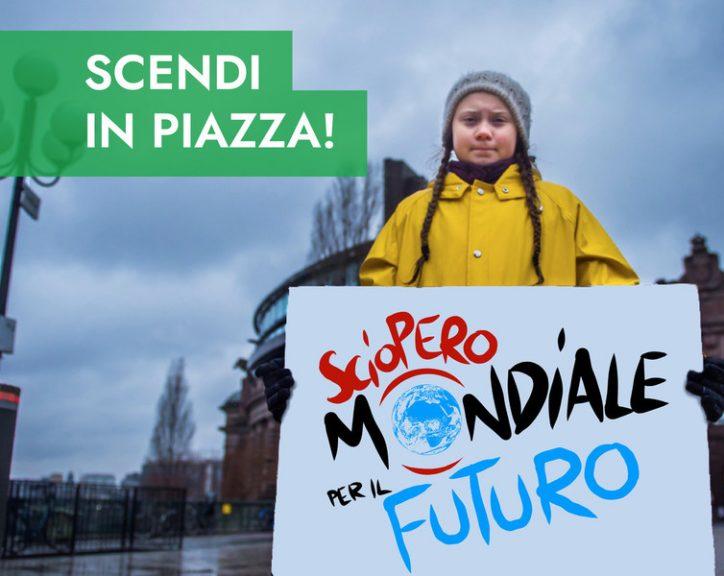 Asti, studenti in sciopero per il clima