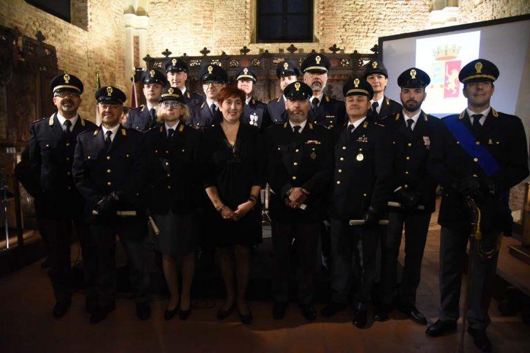 Asti, polizia in festa per il 167° anniversario della sua fondazione