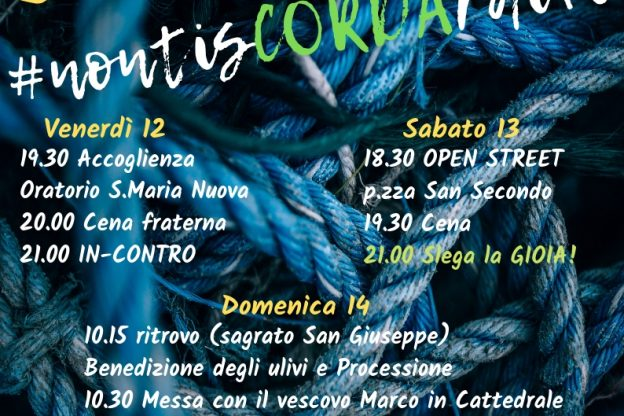 Ad Asti tre giorni di festa per la Gmg diocesana
