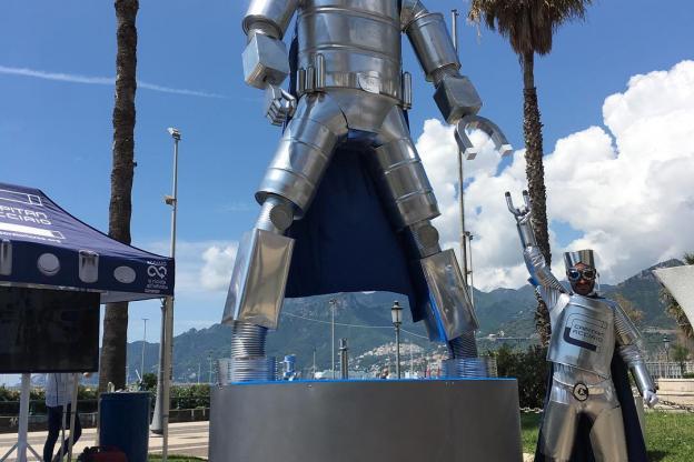 Parte da Asti la terza edizione del tour di Capitan Acciaio