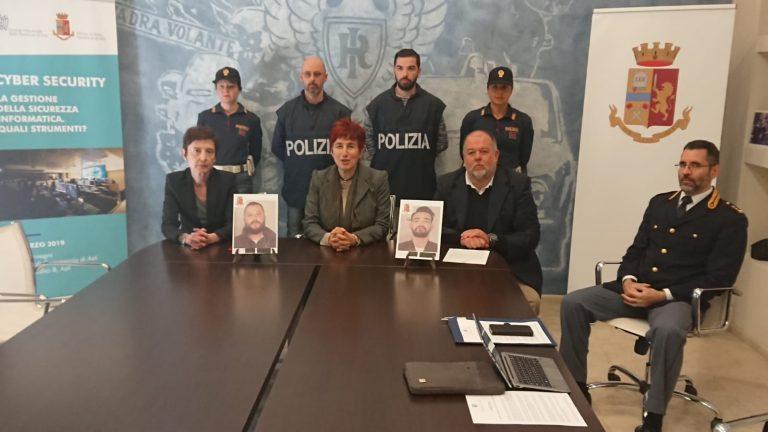 """Catanesi """"pendolari del crimine"""" arrestati per la rapina alla Banca d'Alba di corso Alfieri"""