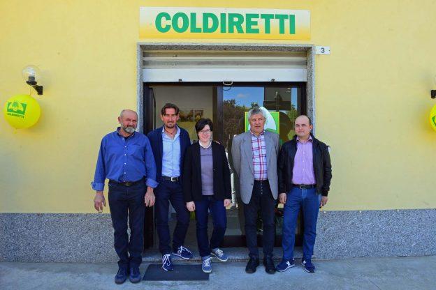 Inaugurati i nuovi uffici Coldiretti a Castagnole delle Lanze