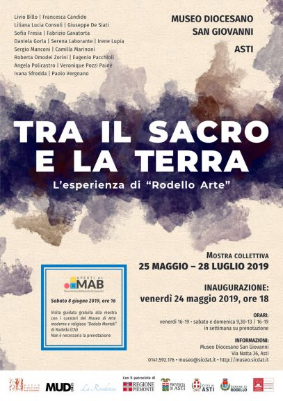 """Asti, al Museo Diocesano la mostra """"Tra il Sacro e la Terra"""""""
