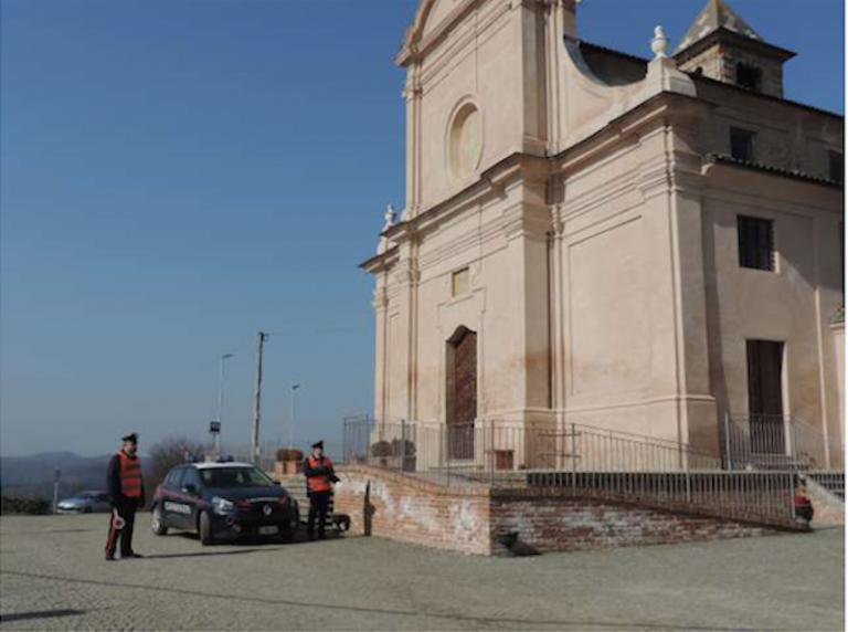 I carabinieri di Incisa Scapaccino arrestano due persone per furto aggravato