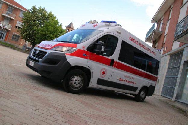 Neonato nasce in ambulanza assistito dalla Croce Rossa di Montiglio