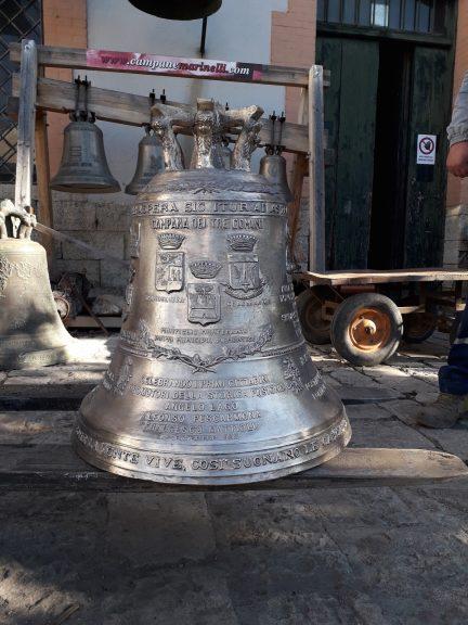 """A Montiglio Monferrato arriva la grande """"Campana dei tre Comuni"""""""
