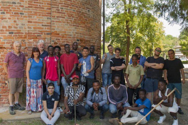 Allievi di EnAIP Asti accolgono i ragazzi di EnAIP Grugliasco: una mattinata all'insegna dell'integrazione e del mondo green
