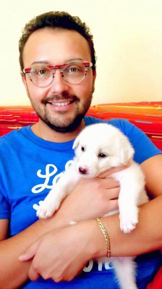 L'associazione Echi d'infinito adotta un cucciolo abbandonato