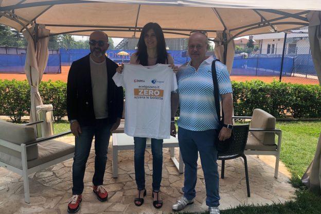 Il sindaco Appendino al torneo Ugi di tennis
