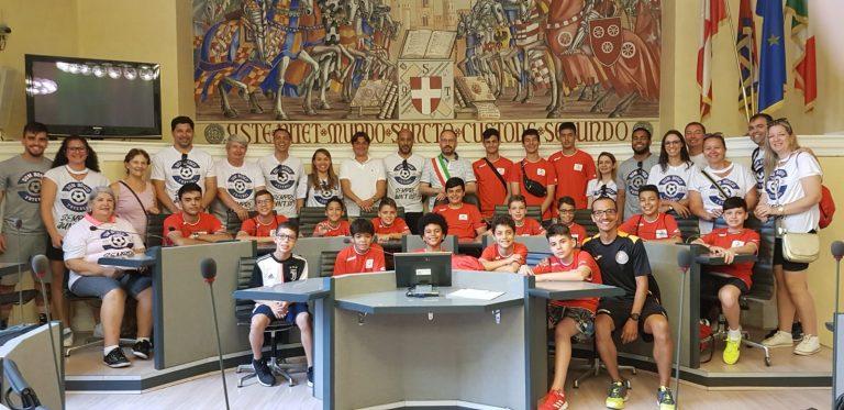 30 atleti dal Brasile in visita ad Asti ospiti dell'Orange Futsal