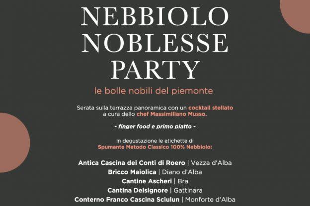 Nebbiolo Noblesse Party al Ca' Vittoria di Tigliole d'Asti