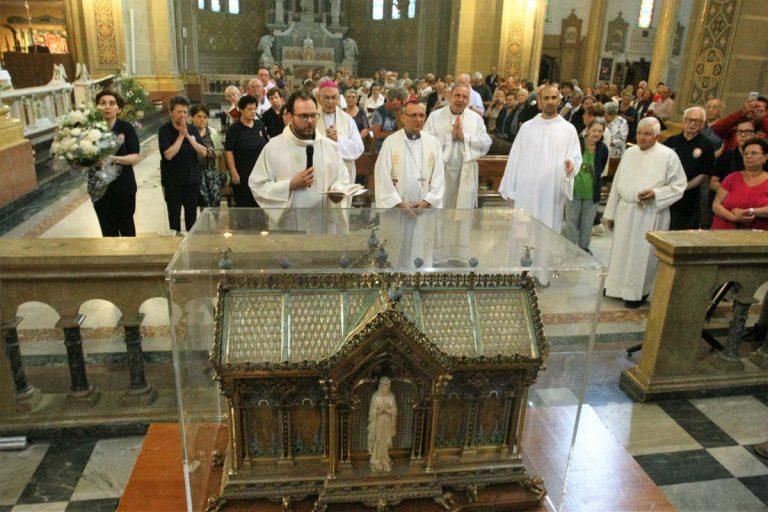 Le reliquie di Santa Bernadette sono ad Asti: la fotogallery