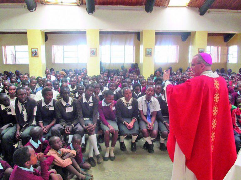 Il diario di viaggio del vescovo Marco in Kenya
