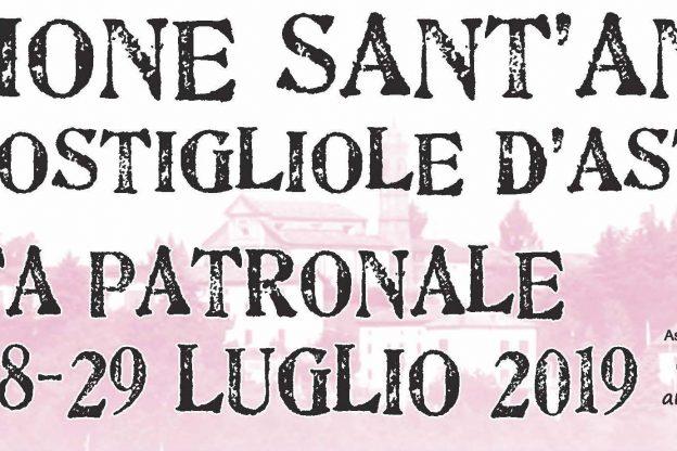 Sant'Anna di Costigliole in festa per quattro giorni