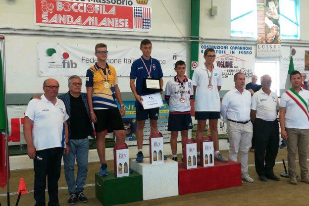 Bocce, ecco tutti i risultati dei campionati itanliani under 15 e under 18