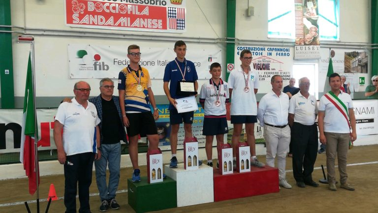 Bocce, ecco tutti i risultati dei campionati italiani under 15 e under 18