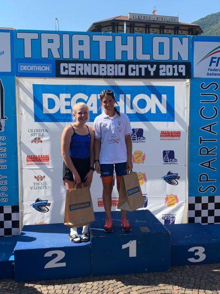 Nel triathlon sprint di Cernobbio bene anche  Michele Gandolfo a trascinare i colori della Futur Project Triathlon Asti