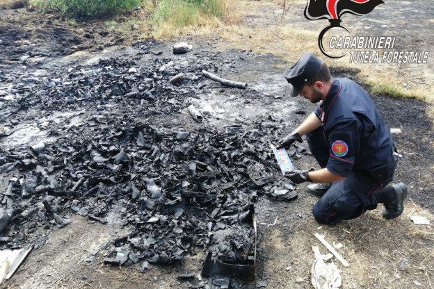Ancora roghi di rifiuti nell'Astigiano: nuove denunce dei carabinieri forestali