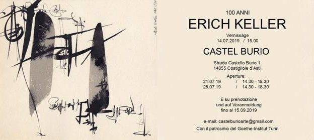 "Costigliole d'Asti: ""100 anni Erich Keller"" a Castel Burio"