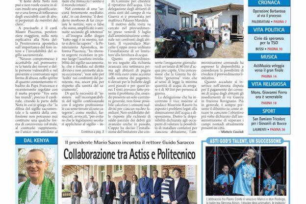 Prima pagina – 12 luglio 2019
