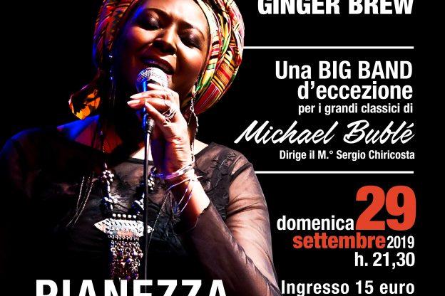 Ginger Brew e la Filarmonica Jazz Band sulle orme di Michael Bublè