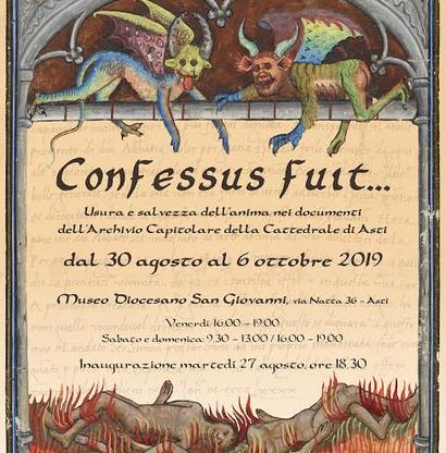 """Confessus fuit"": mostra del Rione Cattedrale ad Asti"
