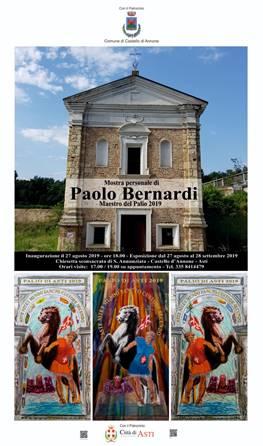 Mostra personale di Paolo Bernardi Maestro del Palio di Asti