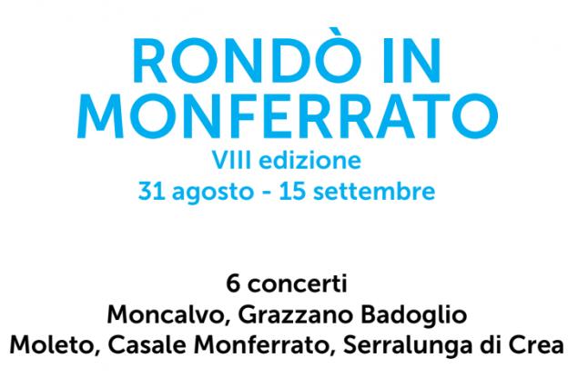 Da fine mese al via Rondò in Monferrato