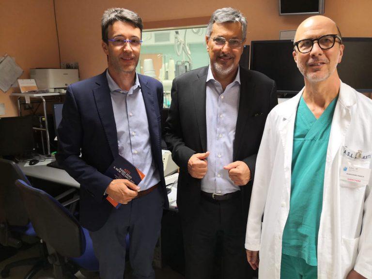 "Asti, l'assessore Icardi in visita all'ospedale: ""Il Massaia è una struttura moderna e di eccellenza"""