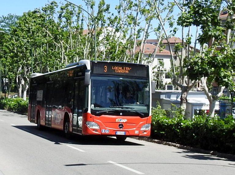 Novità sulle linee dei bus: variazioni per il Festival delle Sagre e orario invernale