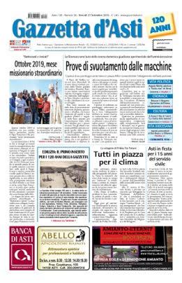 Prima pagina – 27 settembre 2019