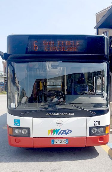 Asti: da lunedì il bus della linea 6 di Asp anticipa l'orario di una corsa del mattino