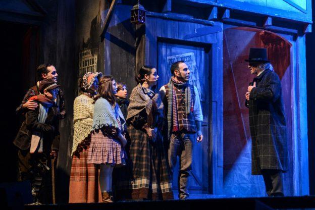 """Al Teatro Alfieri di Asti è già Natale con un """"A Christmas Carol"""" da tutto esaurito"""