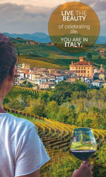 Il territorio di Langhe Monferrato e Roero protagonista di una campagna promozionale dell'Italia nel mondo